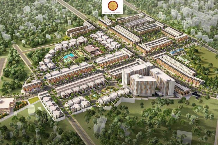 Phối cảnh dự án nhà phố Takara Residence Chánh Nghĩa