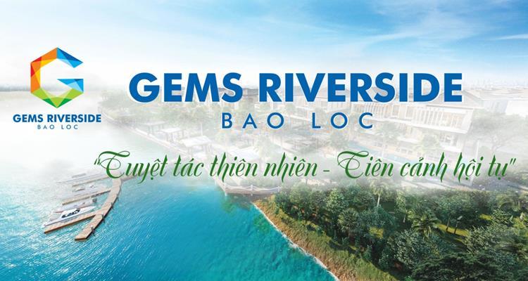 Phối cảnh dự án Đất nền Bảo Lộc Gems Riverside