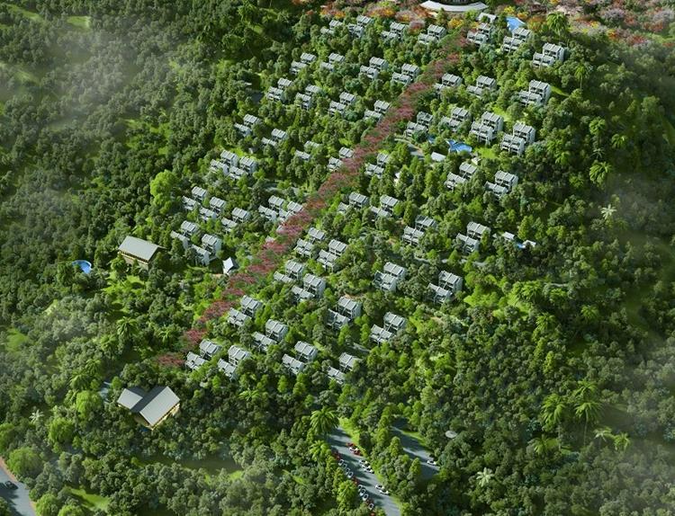Phối cảnh dự án Sky Hills Bảo Lộc