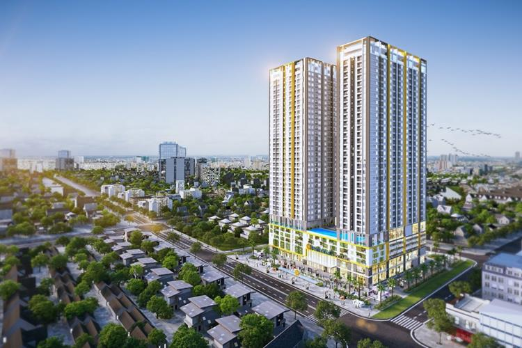 Phối cảnh dự án Phú Đông Sky Garden Bình Dương
