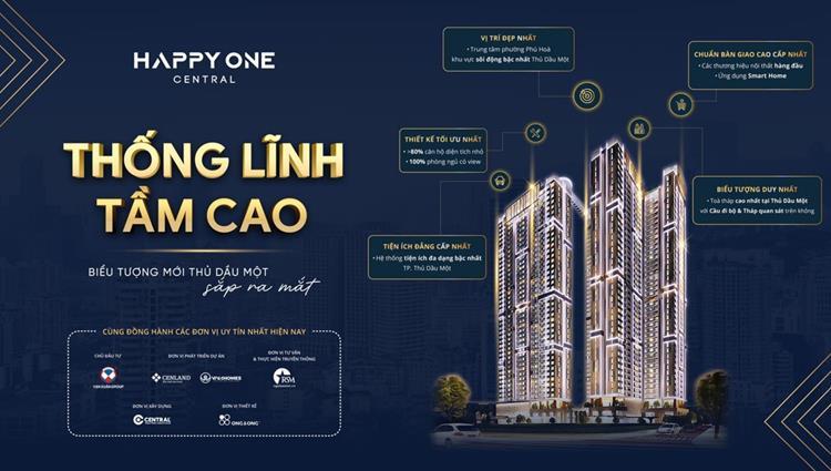 Happy One Central là nơi thống lĩnh Tầm Cao