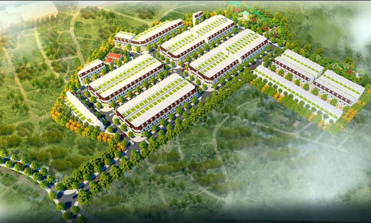 Phối cảnh dự án Dương Tiến Phát Diamond City Bình Dương