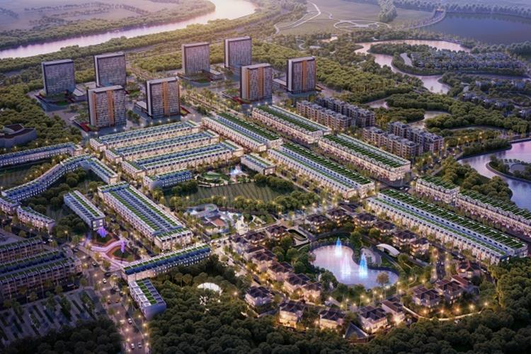 Phối cảnh dự án đất nền Kosy City Beat Thái Nguyên
