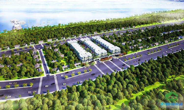 Phối cảnh dự án Hồ Tràm Eco Villas