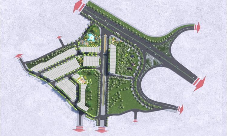 Phối cảnh Khu dân cư số 9 Thịnh Đán trong tương lai