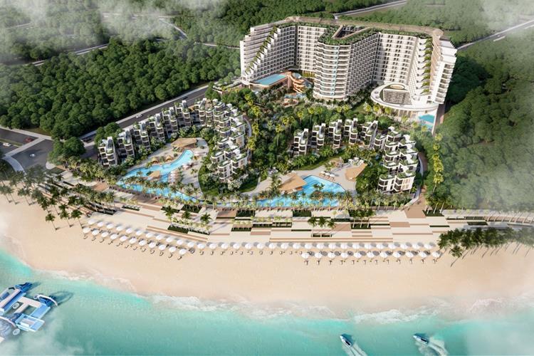 Phối cảnh dự ánNghỉ Dưỡng 5 Sao Charm Resort Long Hải