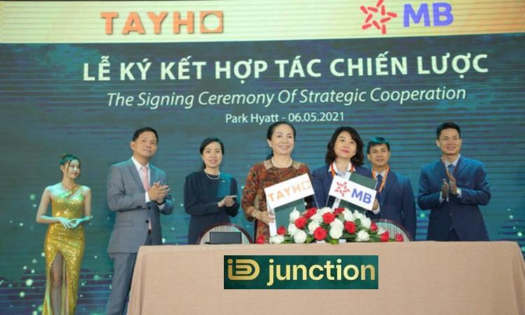 Lễ ký kết dự án khu đô thị ID Junction