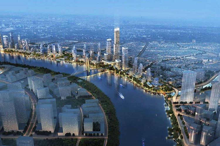 Phối cảnh khu căn hộ The Saigon Riverfront