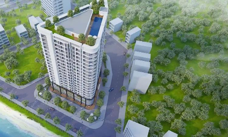 Phối cảnh khu căn hộ Viva Tower Giang Điền