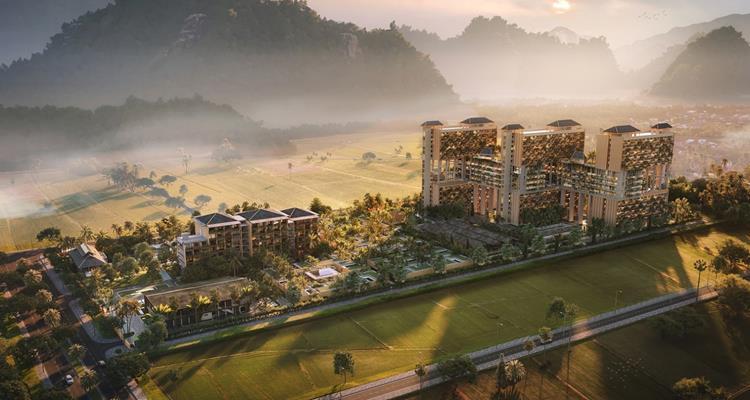 Phối cản khu căn hộApec Mandala Sky Villas