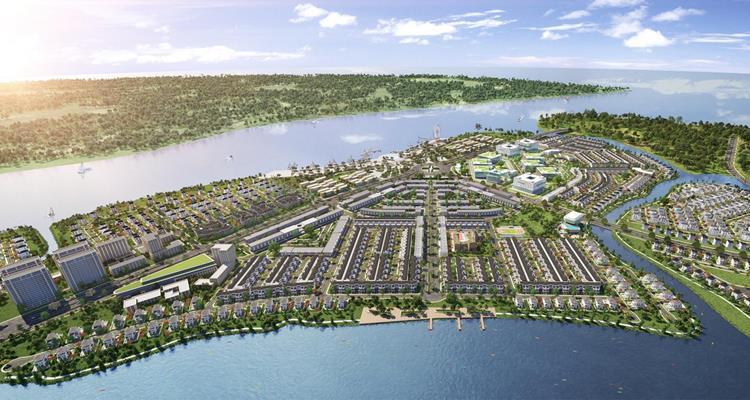 Aqua City được coi là khu đô thị tiềm năng ở vùng vệ tinh thành phố