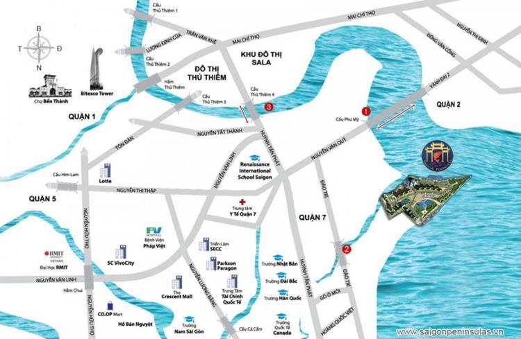 Saigon Peninsula,