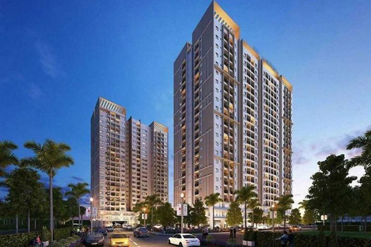 Tổng thể khu căn hộOpal Parkview Thuận An