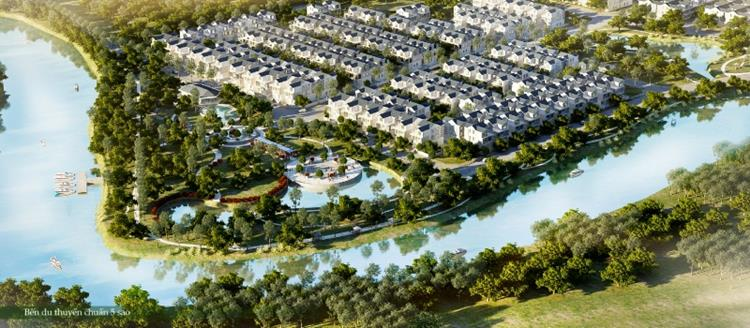 Vị trí nằm gần kề dòng sông Đồng Nai thơ mộng