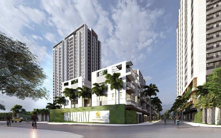 Phối cảnh dự án căn hộ Moonlight Complex tại đường Tên Lửa, Quận Tân Bình