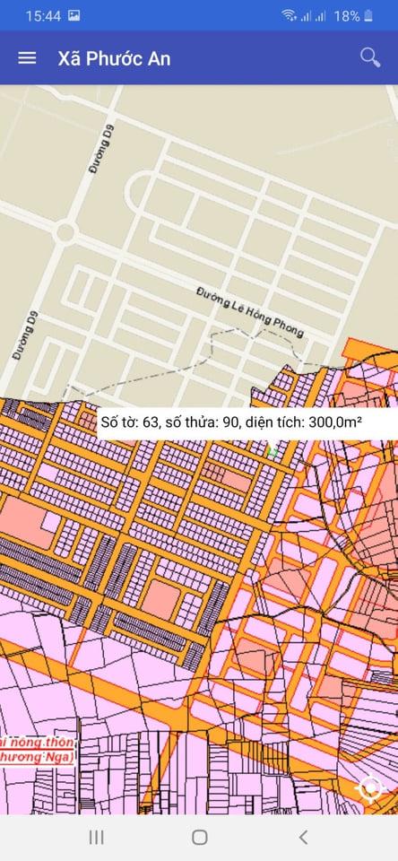 Chủ cần bán gấp lô nhà vườn Phước An số 63/90 diện tích 300 m2