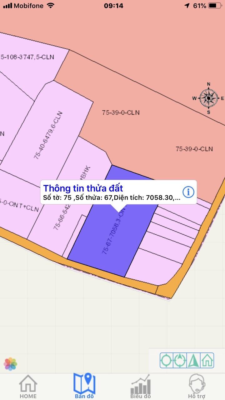 Bán đất nhà xưởng Đường chính Phước Bình