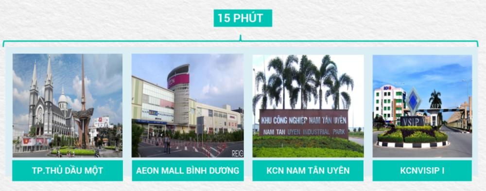 Tiện ích Tân Phước Khánh Village