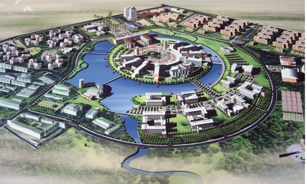 Phối cảnh Khu đô thị Đại học Cổng Xanh Tân Uyên