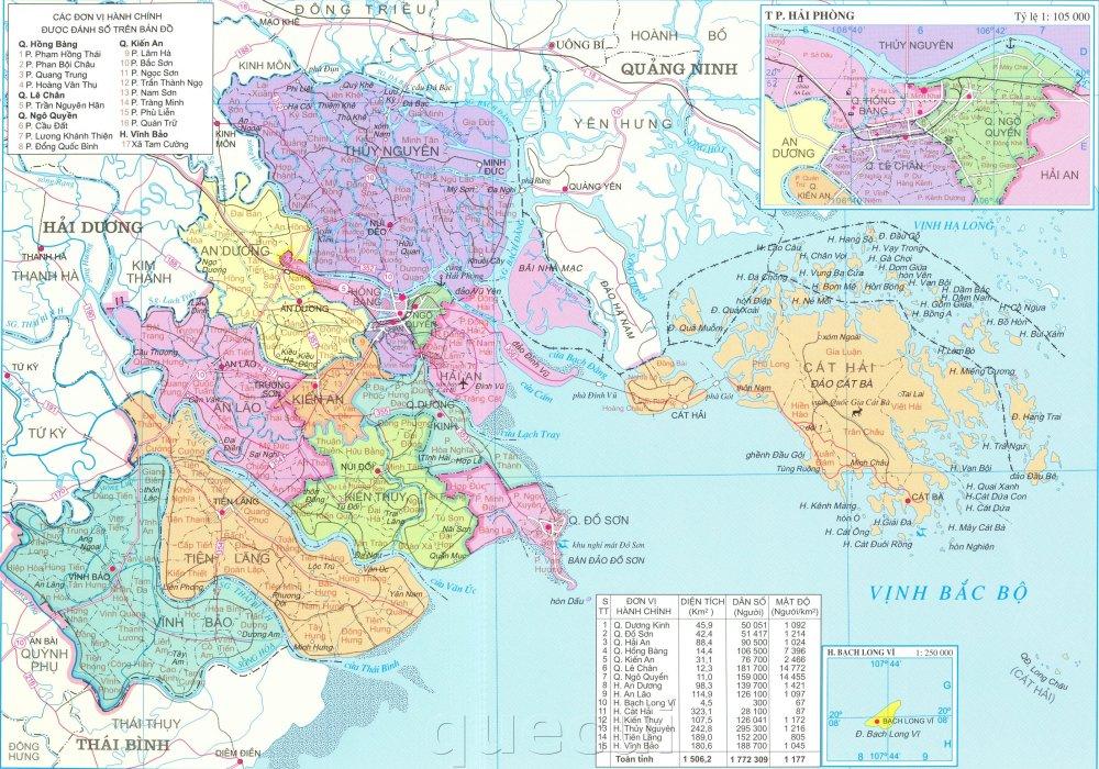 Bản đồ Hải Phòng