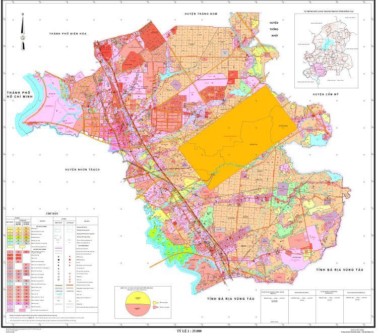 Bản đồ Huyện Long Thành