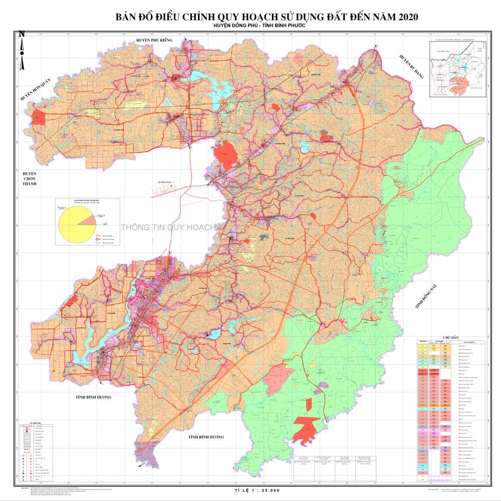 Cập nhật mới nhất Thông tin quy hoạch & bản đồ huyện Đồng Phú, tỉnh Bình Phước 4