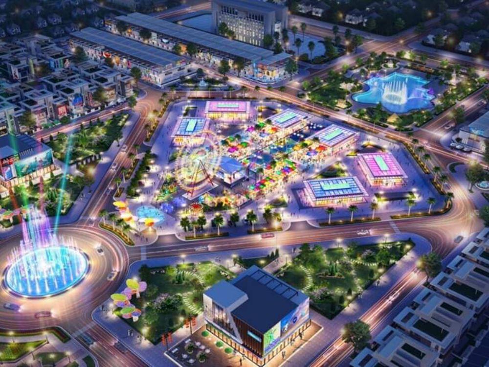 Công viên dự án đất nền Phú Hoà Residence Bình Dương