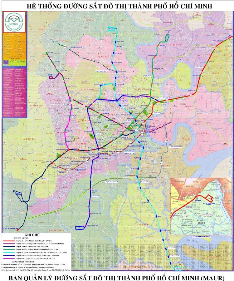 Hệ thống đường sắt tại TPHCM,
