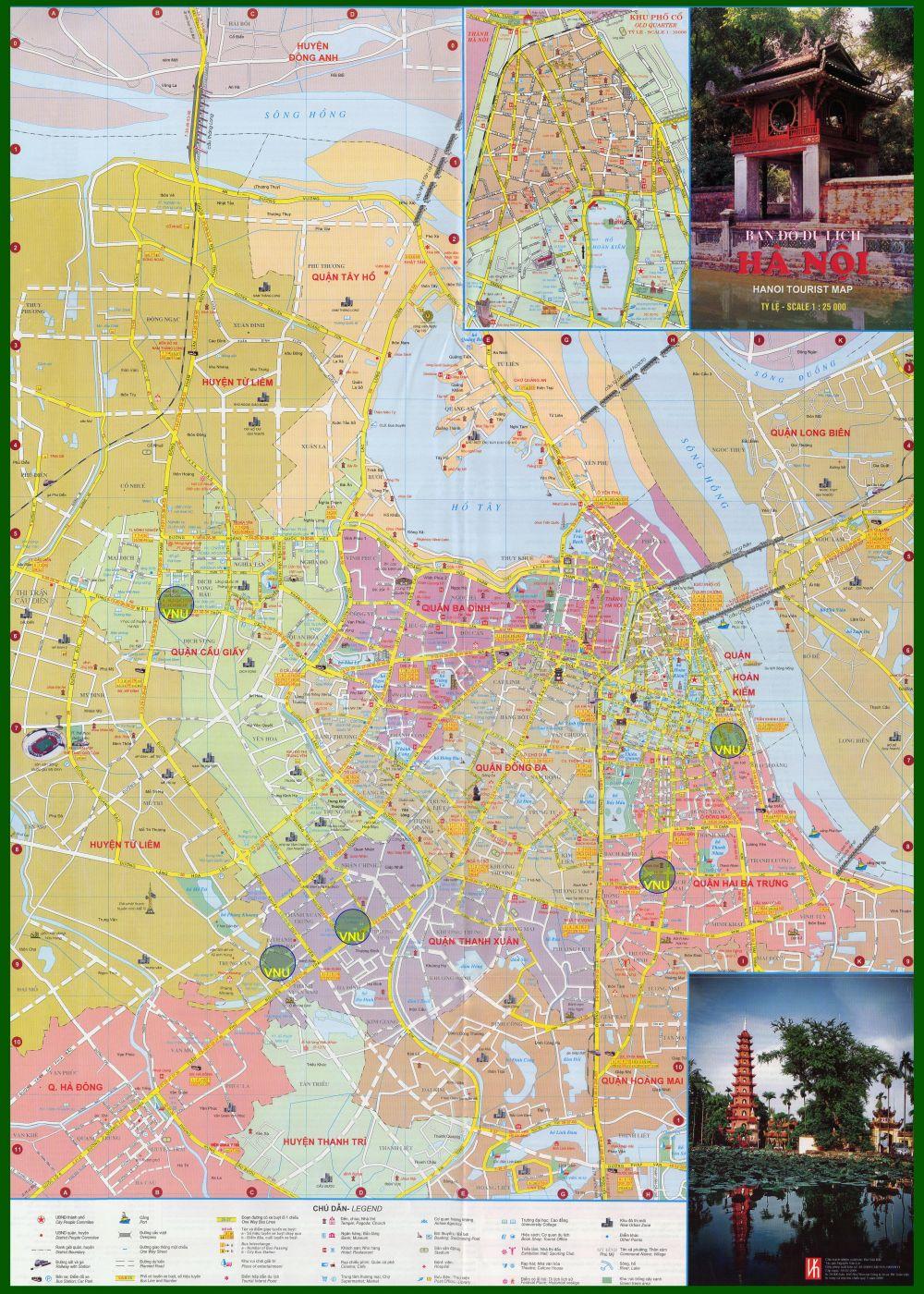 10203940 ban do tai ha noi - Bản đồ TP Hà Nội hiện tại có 30 đơn vị hành chính cấp huyện,