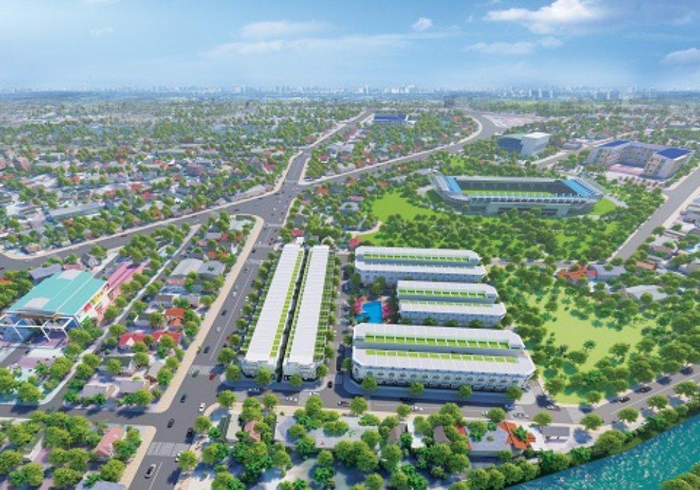 Phối cảnh dự án biệt thựMai Anh Mega Mall Trảng Bàng Tây Ninh