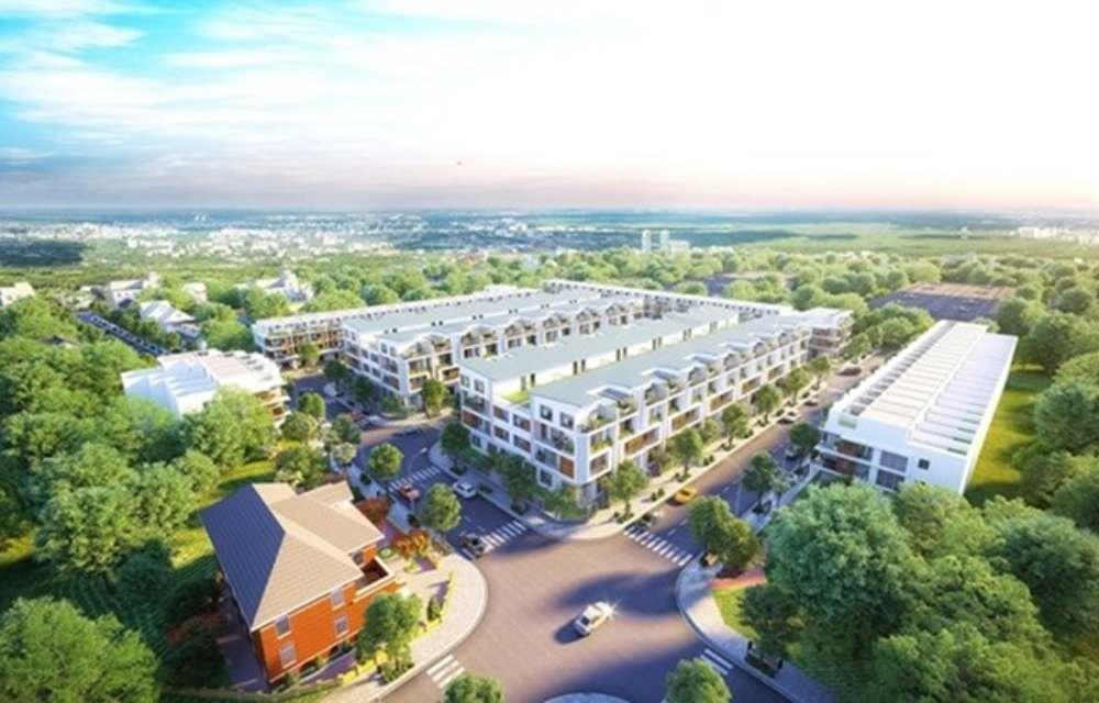 Nhà phố dự án Hana Garden Mall Bình Dương