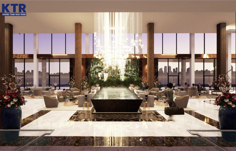 Sảnh chờ dự án Aria Đà Nẵng Hotel & Resort Đà Nẵng