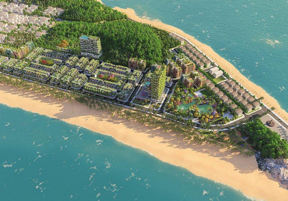 Phối cảnh dự án Flamingo Crown Bay Thanh Hoá