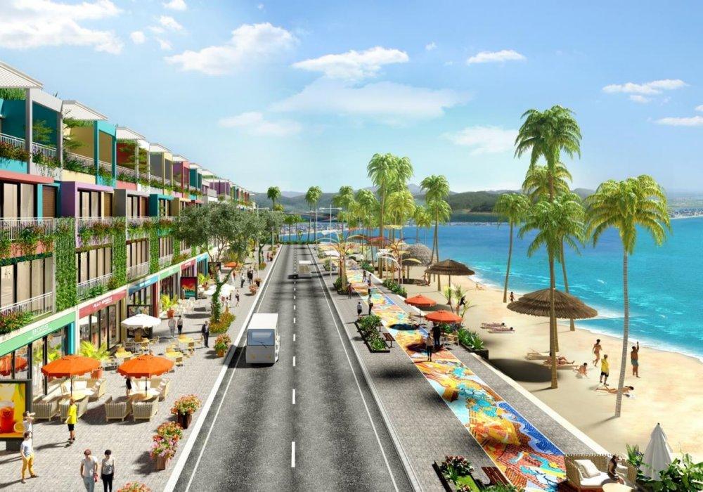 Trục đường ven biển dự án Flamingo Crown Bay Thanh Hoá