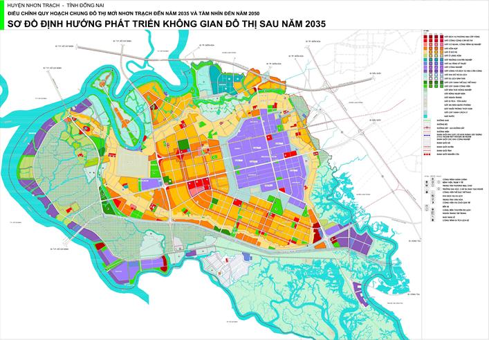Cập nhật mới nhất Thông tin quy hoạch tỉnh Đồng Nai 2020, tầm nhìn đến năm 2050 3