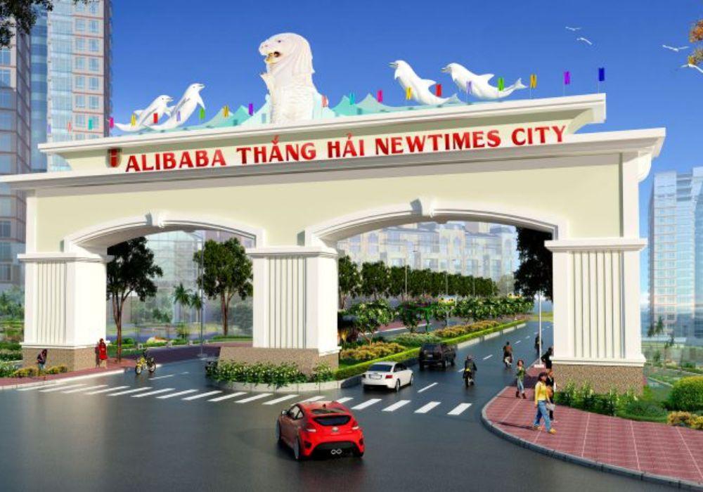 Phối cảnhh dự án Alibaba Thắng Hải Newtimes City