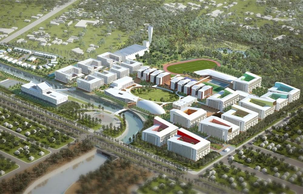 Phối cảnh trường đại học Việt Đức tại Bình Dương