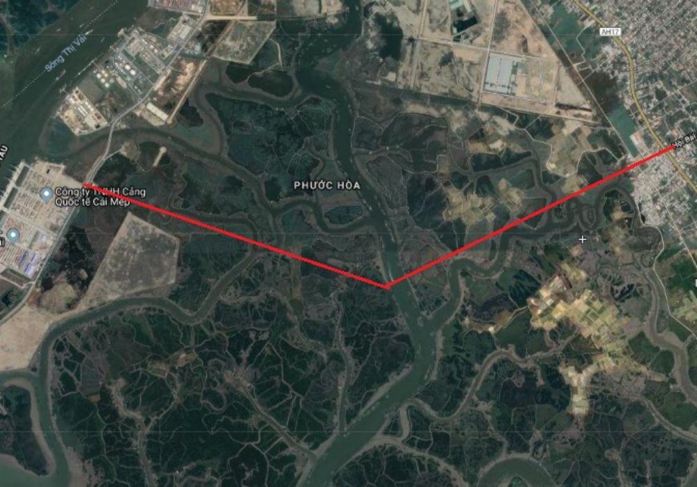 Sơ đồ quy hoạch tuyến đường 991B