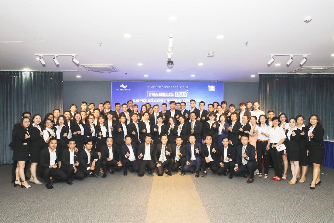 Tập thể CNV của công ty Thắng Lợi Group