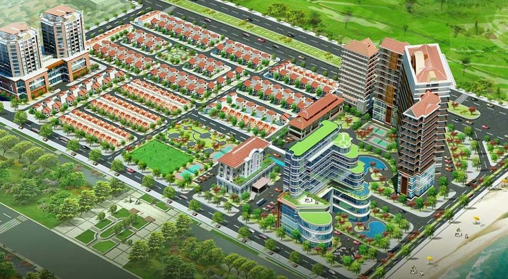 Phối cảnh dự án Cửa Lò Beach Villas Nghệ An
