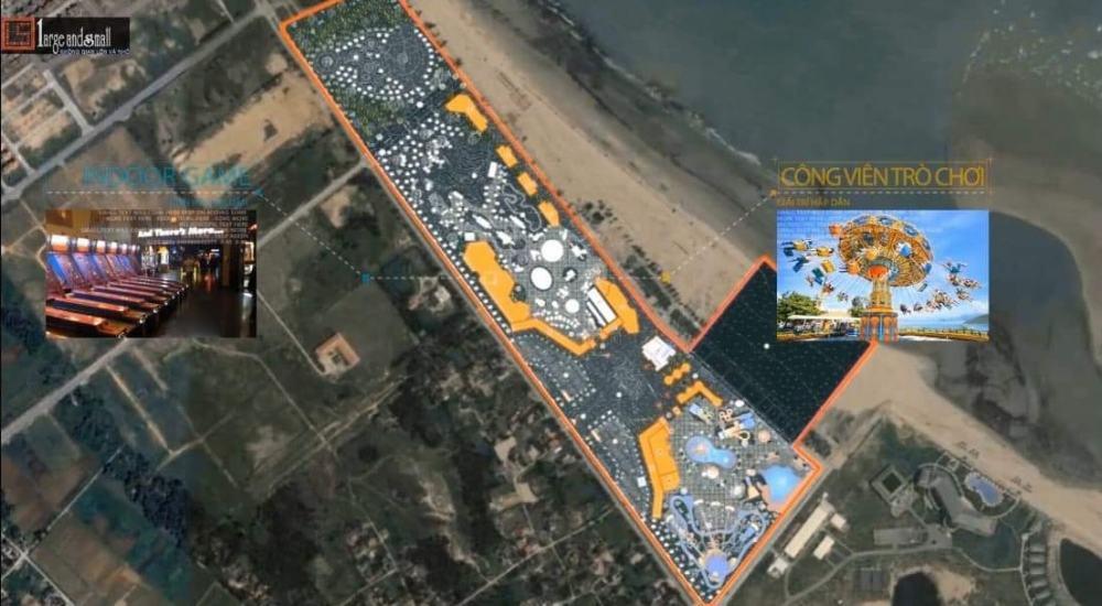 Vị trí dự án Cửa Lò Beach Villas Nghệ An trên thực tế