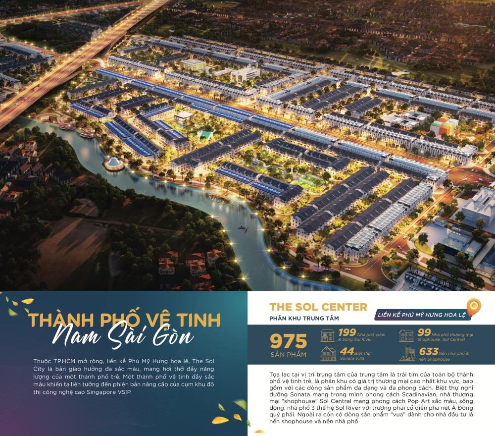 Chính sách mở bán đợt 1 The Sol City