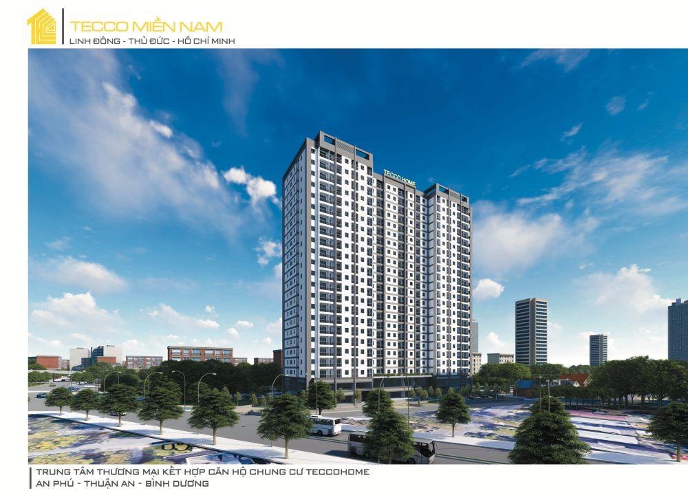 Phối cảnh dự án căn hộ chung cư Tecco Home An Phú