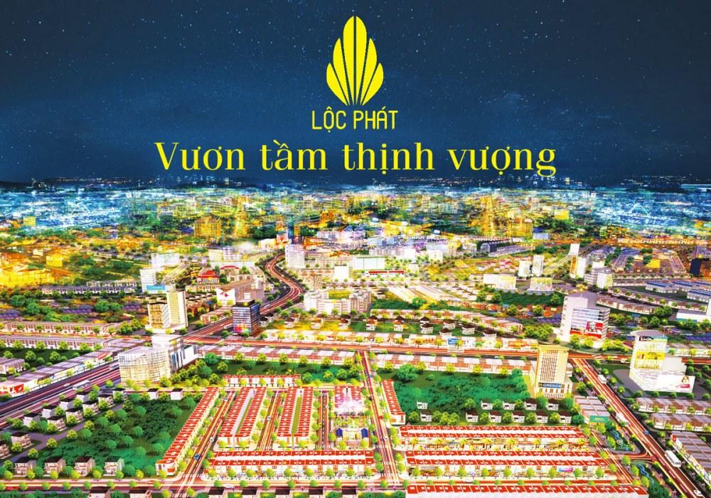 Phối cảnh dự án đất nền Phố Thương mại Lộc Phát Bàu Bàng Bình Dương