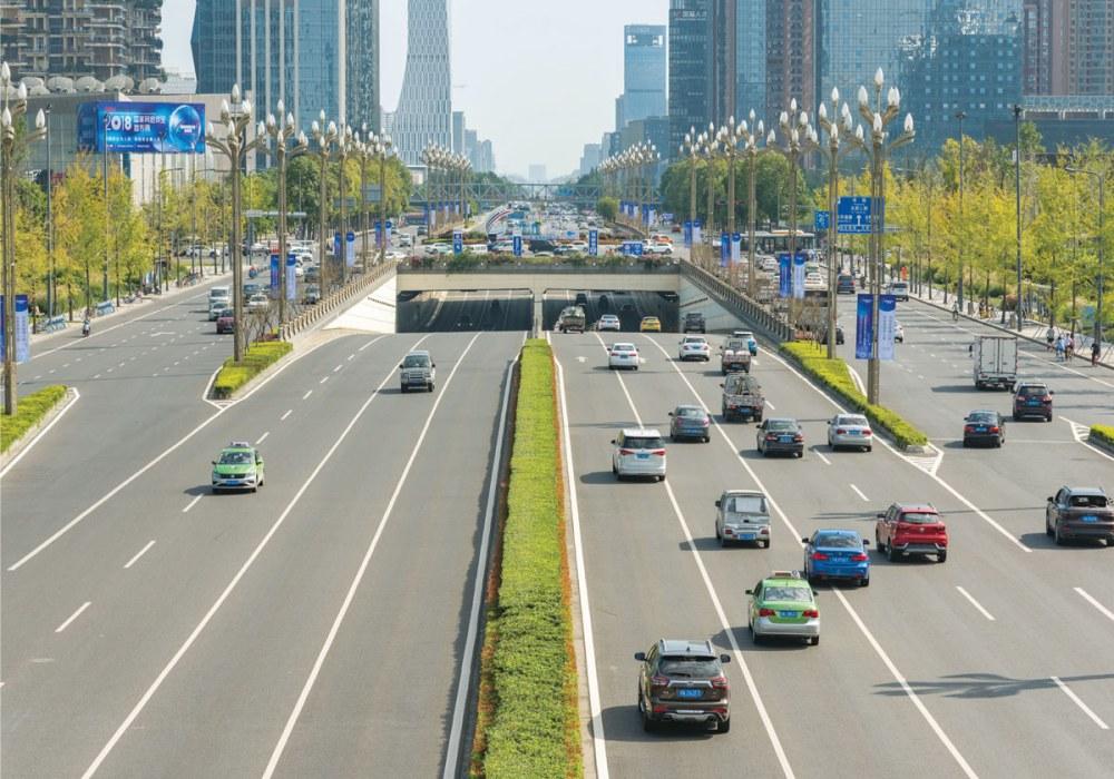 Giao thông tại Phố Thương mại Lộc Phát kết nối nhanh với khu vực