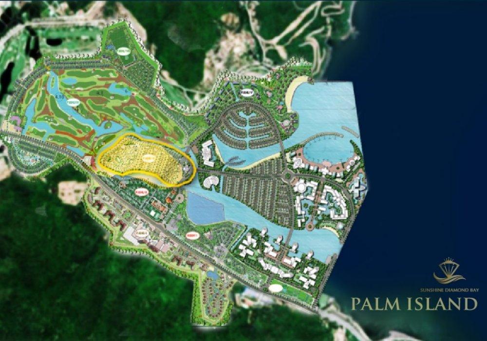Phối cảnh từ trên cao khu đô thị Sunshine Diamond Bay Nha Trang
