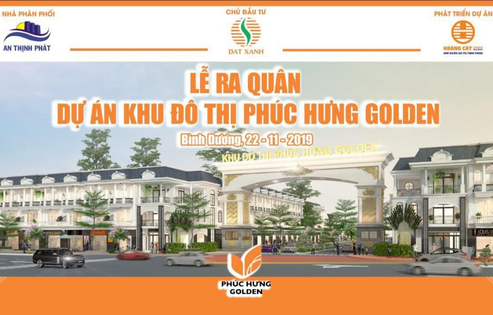 Lễ ra quân dự án Phúc Hưng Golden Bình Phước