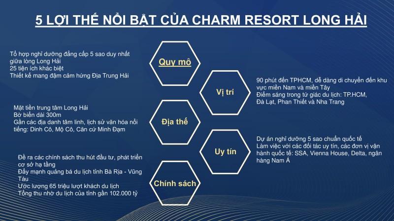 5 điểm mạnh dự án Charm Long Hải mà khách hàng mua nên biết