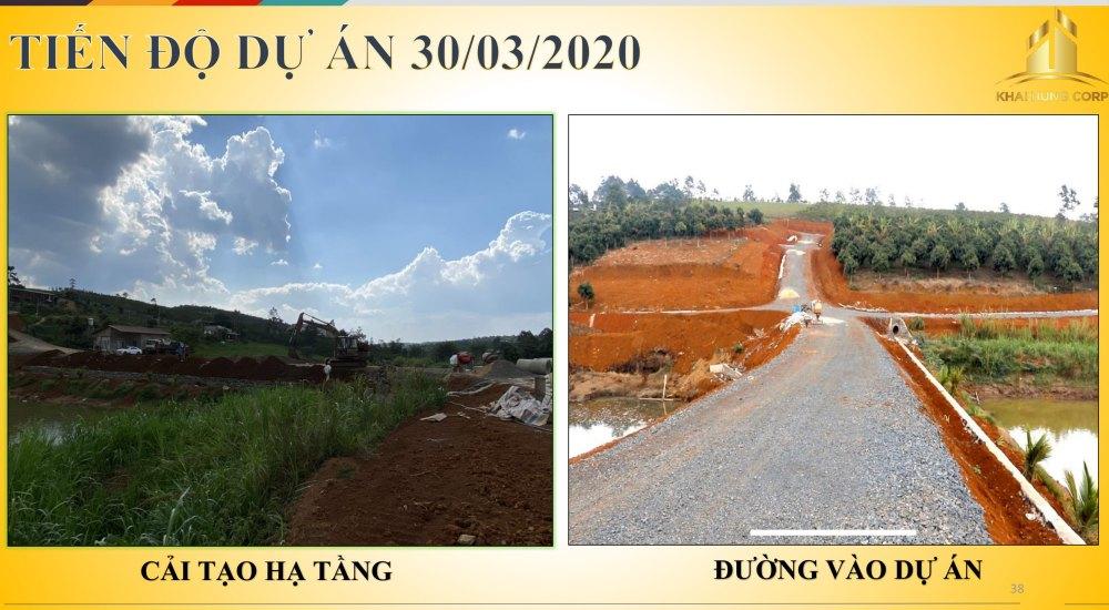 Tiến độ thi công dự án Bảo Lộc Sun Valley Lâm Đồng vào ngày 03/03/2020