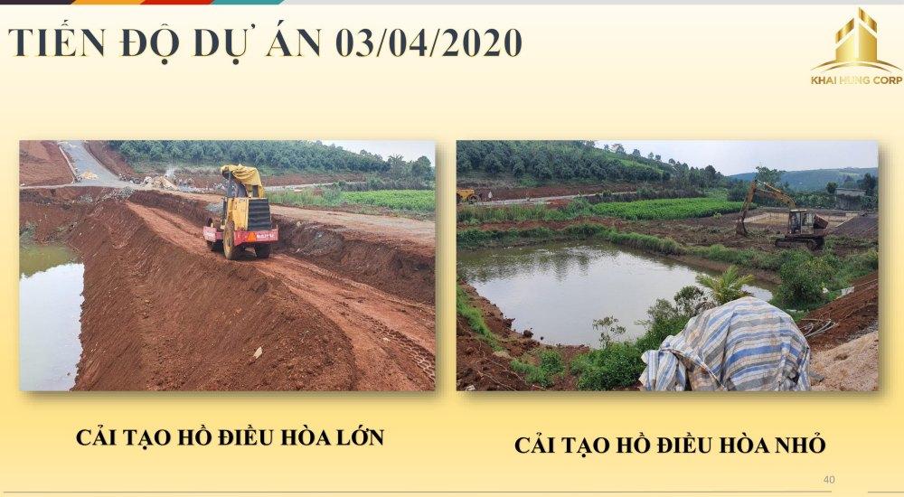 Tiến độ thi công dự án Bảo Lộc Sun Valley Lâm Đồng vào ngày 03/04/2020